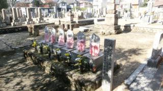 西宮市神呪墓地の墓地内写真