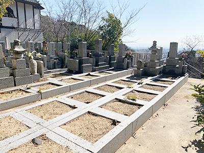 西宮市の妙龍寺夙川霊園の写真