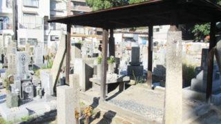 西宮 下瓦林墓地のお墓の写真