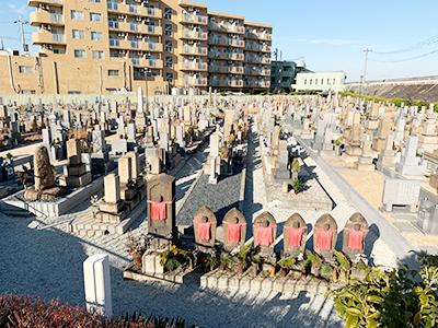 西宮市立上田墓地の写真