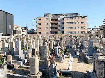 西宮市立上鳴尾墓地の写真