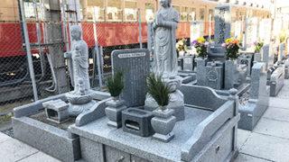 西宮市の小松東墓地の写真